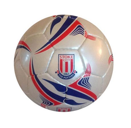 branded skill footballs - Stoke City football club